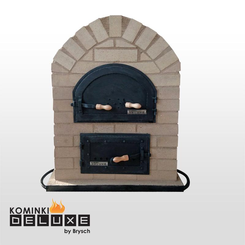 Zaawansowane Piece chlebowe opalane drewnem do pieczenia chleba - Kominki Deluxe GV57